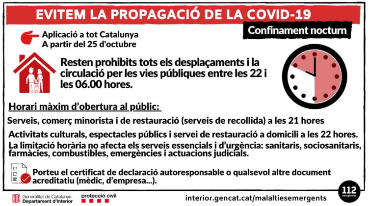 Noves Mesures I Restriccions Per La Covid-19